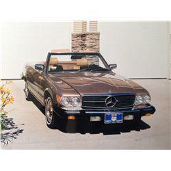1983 MERCEDES BENZ 380 SL CONVERTIBLE