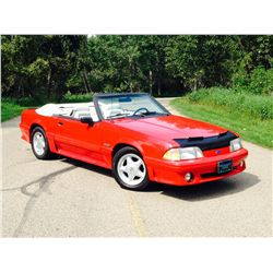 1993 FORD MUSTANG GT 5.0 CONVERTIBLE
