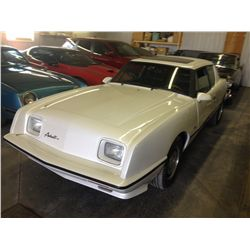 NO RESERVE! 1988 STUDEBAKER AVANTI SUPERCHARGED SPORT COUPE