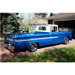 NO RESERVE! BEAUTIFULLY RESTORED 1962 CHEVY PICK UP