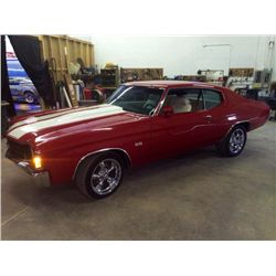 1972 CHEVROLET CHEVELLE - REAL DEAL SS