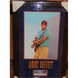 NO RESERVE! JIMMEY BUFFETT - SIGNED IMAGE