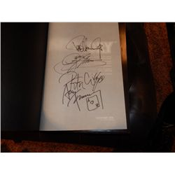NO RESERVE! KISSTORY COFFEE TABLE BOOK SIGNED BY ALL 4 ORIGINAL MEMBERS