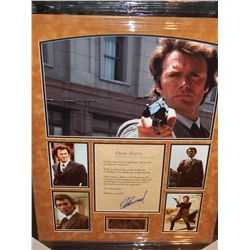 NO RESERVE! DIRTY HARRY QUOTE - SIGNED BY CLINT EASTWOOD