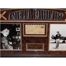 NO RESERVE! AMELIA EARHART - SIGNED MAIL FLOWN BY HER