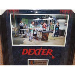 DEXTER - CAST SIGNED IMAGE