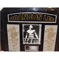 BRANDON LEE - VERY RARE SIGNED IMAGE
