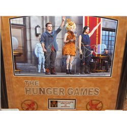 HUNGER GAMES - PRINT SIGNED BY CAST MEMBERS