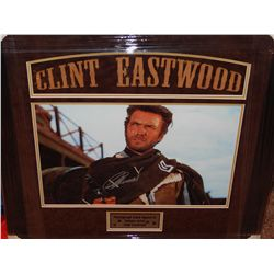 CLINT EASTWOOD - SIGNED PRINT