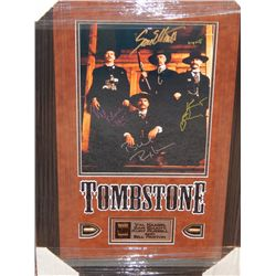 TOMBSTONE PRINT - CAST SIGNED