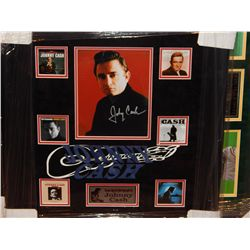 JOHNNY CASH - SIGNED IMAGE