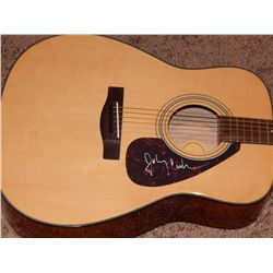 JOHNNY CASH - SIGNED ACOUSTIC GUITAR