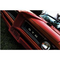 1968 PONTIAC GTO RESTO ROD - SELLS AT 4PM