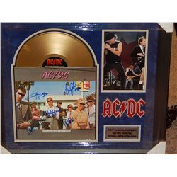 NO RESERVE! AC/DC - SIGNED LP