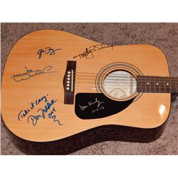 NO RESERVE! EAGLES - SIGNED ACOUSTIC GUITAR