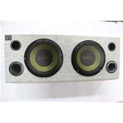 THUMP SPEAKER BOX W/ SPEAKERS