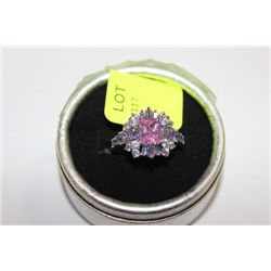 LADIES 925 SILVER RING ON CHOICE SZ 9