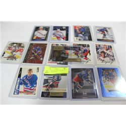 BUNDLE OF GRETZKY CARDS O.C. TO LOT 120 : RANGERS