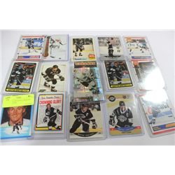 BUNDLE OF GRETZKY CARDS ON CHOICE : KINGS
