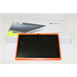 NEW 7 INCH ANDROID MULTIMEDIA TABLET OC TO LOT 123
