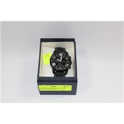 GT GRAND TOURING WATCH W/ BLACK RUBBER STRAP