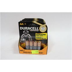 BOX OF 28 DURACELL AA BATTERIES