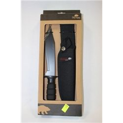 OLYMPIA HUNTING KNIFE WITH CASE