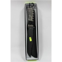 ZOMBIE KILLER HUNTING KNIFE ON CHOICE GREY