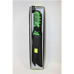 ZOMBIE KILLER HUNTING KNIFE ON CHOICE GREEN