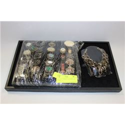 TRAY OF FASHION JEWELRIES ON CHOICE