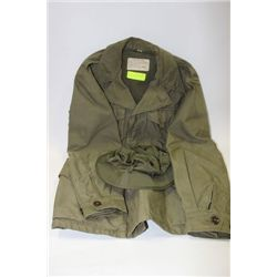 1943 WW-2 FIELD JACKET SIZE 34R (CANADIAN ARMY)
