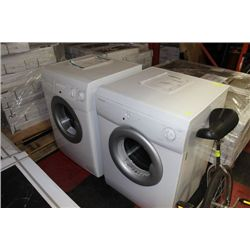 EUROTECH FRONT LOAD WASHER AND DRYER