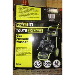 POWERIT!  6.5HP GAR PRESSURE WASHER