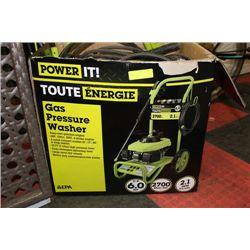 POWERIT! 6.0HP GAS PRESSURE WASHER