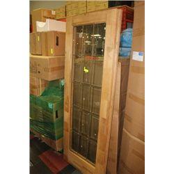GLASS FRENCH DOOR X2