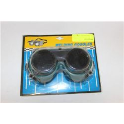 PAIR OF WELDING GOGGLES