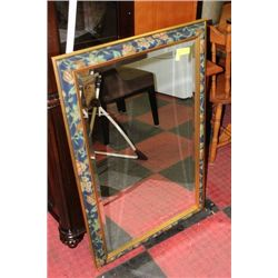 "LARGE BEVELLED DECORATIVE MIRROR 26"" X 40"""