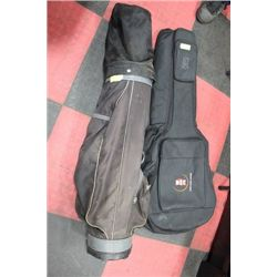 GUITAR CASE SOLD W/ GOLF CLUB SET