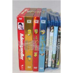 SIMPSONS DVD BOX SETS.WEED BLURAY BOX SETS