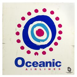 Oceanic Airlines Logo Sign from LOST
