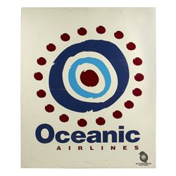 Wooden Oceanic Airlines Logo Sign from LOST