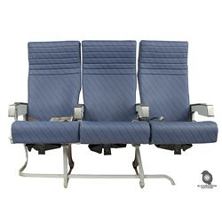 Original Oceanic 815 Airline Seats from Pilot Episode of LOST