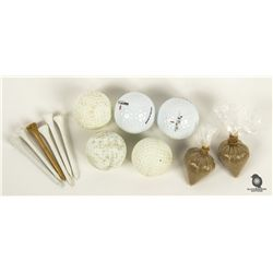 Set of Hero & Stunt Golf Balls with Two Heroin Bags from LOST