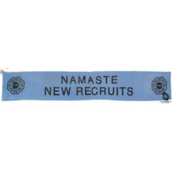 """Dharma Initiative """"Namaste"""" New Recruits Banner from LOST"""
