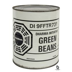 Original Prop Can of Dharma Green Beans from LOST