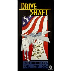Original Screen-Used Drive Shaft Poster from LOST