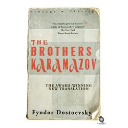 Locke's The Brothers Karamazov Book that He Gives to Ben from LOST