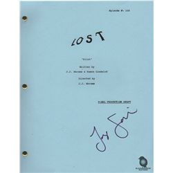 Jorge Garcia Signed Copy of Pilot Script from LOST