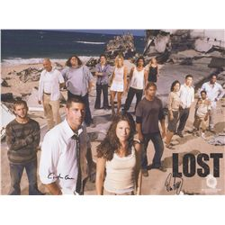LOST Season 1 Matte Canvas Print Signed by Carlton Cuse & Damon Lindelof