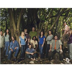 LOST Season 3 Cast Photo Signed by Michael Emerson & Terry O'Quinn
